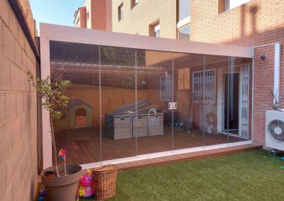 Proyecto integral de terraza con pérgola